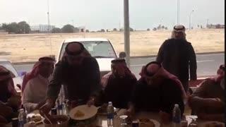 ضیوف بنی خالد فی فندق آدم الکویت