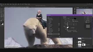 آموزش تکنیک مت پینتینگ فتوشاپ برای ایجاد تصاویر خلاقانه | Matte Painting in photoshop