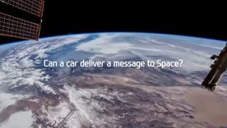 ارسال پیام به ایستگاه بین المللی فضایی.