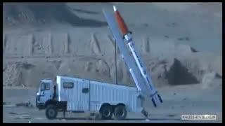 آزمایش موشک ضد رادار هرمز-1