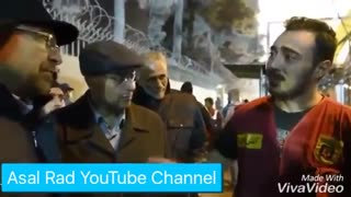 پلاسکو : صحبت های یک آتش نشان جلوی قالیباف
