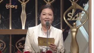 جشنواره SBS Drama Award  2016 باحضور بازیگران سریال افسانه دریای آبی + عاشقان ماه پارت1 با زیرنویس فارسی(نماشا کاورش عوض کرد)