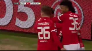 خلاصه بازی:  ماینتس  1 - 1  دورتموند