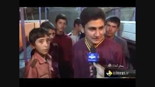 گزارش خبری طرح مزرعه دانش آموزان شهرستان بستان آباد، پخش از شبکه یک سیما