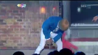 드라마틱 블루 [눈물나게 아름다운 (muse)] @SBS gayodaejun )'گروه دراماتیک بلو با حضور جناب نامو가요대전