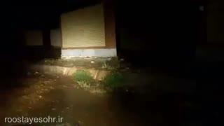 فیلم بارش شدید باران از آقای حسین قاسمی