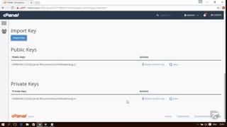 آموزش Cpanel - قسمت 43 Email Encryption