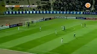 خلاصه بازی :  استقلال خوزستان  1 - 1   الجزیره امارات