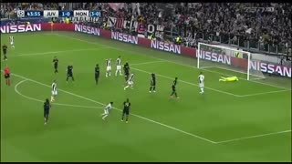خلاصه بازی :  یوونتوس  2  -  1   موناکو