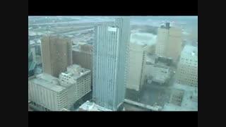 تخریب ساختمان ها با دینامیت