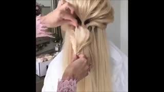 آموزش 10 مدل مو زیبا و مجلسی