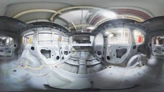 ویدیو 360 درجه : گشتی در کارخانه خودروسازی فورد در کشور چین
