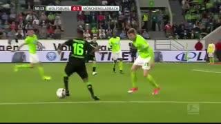خلاصه بازی :  وولفسبورگ  1  - 1   مونشن گلادباخ