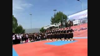 گروه هلپرکی مریوان در همایش پیاده روی