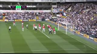 خلاصه بازی :  تاتنهام   2  -  1   منچستریونایتد