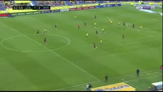 خلاصه بازی :  لاس پالماس   1  -  4   بارسلونا   ( هتریک نیمار )