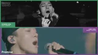 EXO - High Notes : Live Vs Studioهای نت خوندن های محشر اکسو زنده و استودیویی. اکسوالا توضیحات