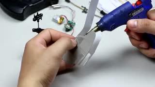 ساخت هلیکوپتر مدل rc پرنده با کارتون