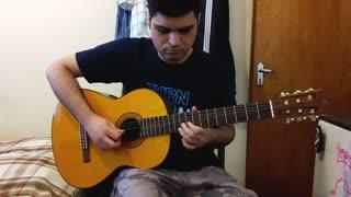 مبارک باد با گیتار