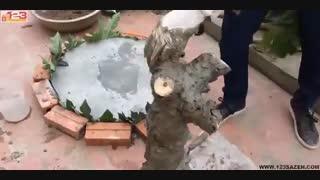 دست سازه های بتنی (ساخت میز بتنی)