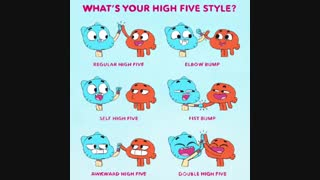 Whats your high five style