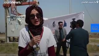 رکابزنی برای تغییر؛ دختران در مزارشریف افغانستان مسابقه دادند…