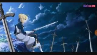 موزیک ویدیو از انیمه ی  fate grand order