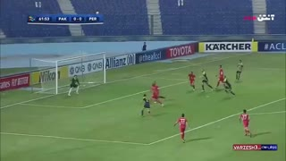 خلاصه بازی پرسپولیس و پاختاکور در لیگ قهرمانان آسیا