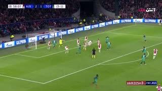 خلاصه بازی تاتنهام و آژاکس در لیگ قهرمانان اروپا