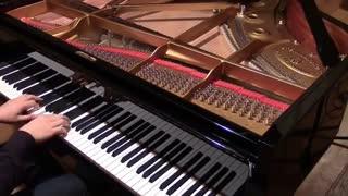 تا شقایق هست... پیانو تیتراژ انیمه نسیمی از فردا