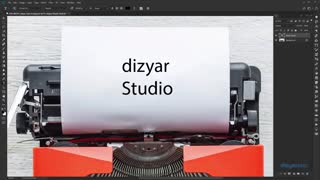 آموزش فتوشاپ ابزار تایپ فتوشاپ type-tool