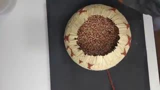 آتشفشانی از چوب کبریت