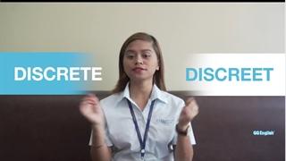 """آموزش نکات انگلیسی - کلمات مشابه - قسمت نوزدهم : """"DISCRETE"""" and """"DISCREET"""""""