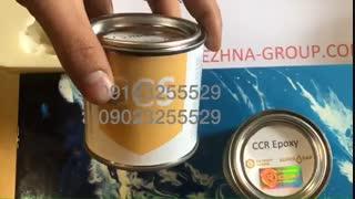 رزین اپوکسی شفاف و بی رنگ چوب و زیورالات CCR