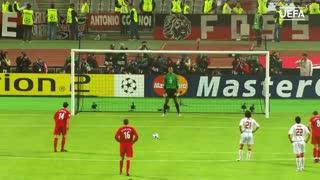 ژابی آلونسو در باشگاه صدتایی لیگ قهرمانان اروپا