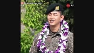 پایان سربازی تکیون/تبریک به همه هواداران این هنرمند