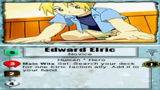 گیم پلی کوتاهی از بازی کلاسیک و انیمه ای کیمیاگر تمام فلزی کارت بازی Fullmetal Alchemist Trading Card Game برای کامپیوتر