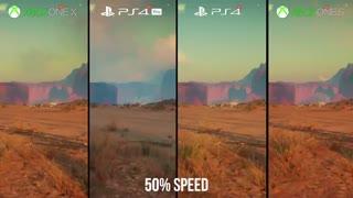 مقایسهی گرافیک Rage 2 بر روی کنسولها