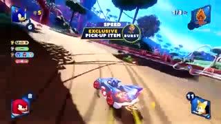 تریلر جدید بازی سونیک - Team Sonic Racing - سایت سه گوش
