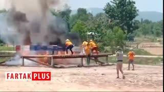 فستیوال تماشایی آتش بازی در تایلند