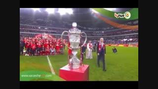 جشن قهرمانی لوکوموتیو مسکو در جام حذفی روسیه