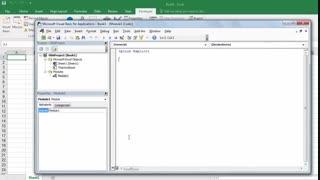 برنامه نویسی در محیط اکسل (قسمت سوم)