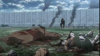 انیمه حمله به تایتانAttack on Titanقسمت ۱۷فصل سوم