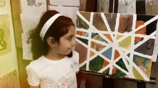 خلاقیت نقاشی کودک