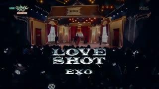 اجرای EXO - Love Shot با زیرنویس فارسی چسبیده