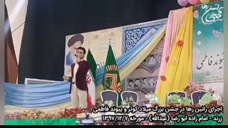 اجرای آهنگ مونس از راتین رها در جشن بزرگ میلاد کوثر در زرند