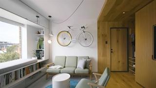 چالش دیزاین کوچکترین آپارتمان