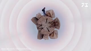 آموزش افترافکت : ساخت ویدیو 360 و چرخش آن