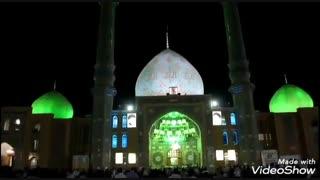 تصاویری از مسجد مقدس جمکران با آهنگ زیبای 'هر جمعه' مهدی عابدی